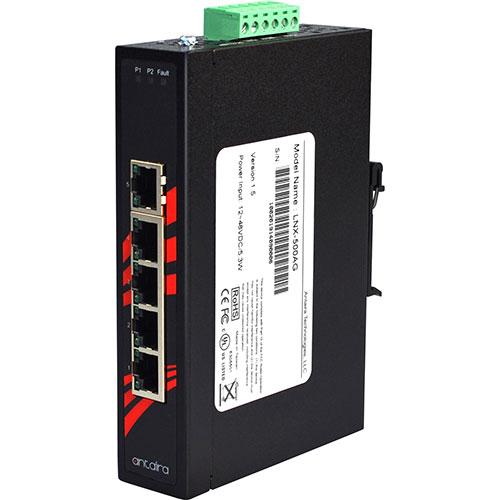 5-Port 10/100/1000T Port Endüstriyel Ethernet Switch